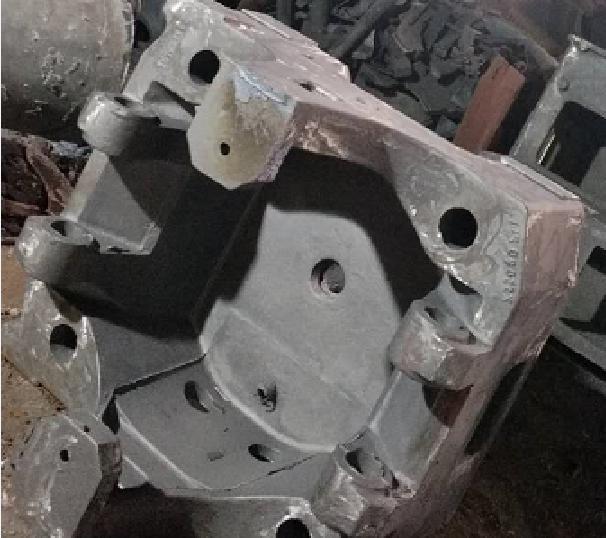 无锡铸造厂——注塑机尾板工艺升级