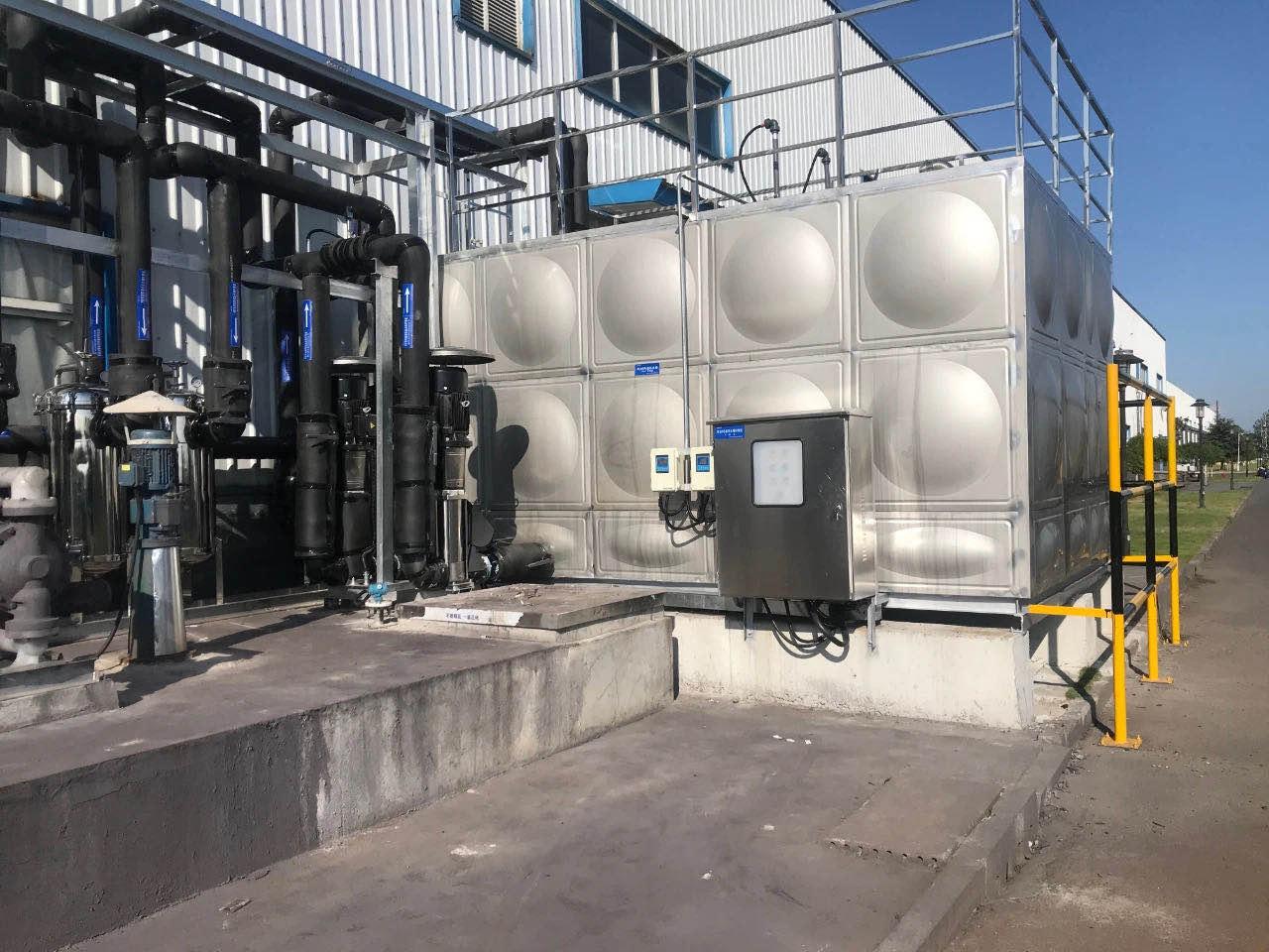 求精集团正式推出不锈钢水箱业务