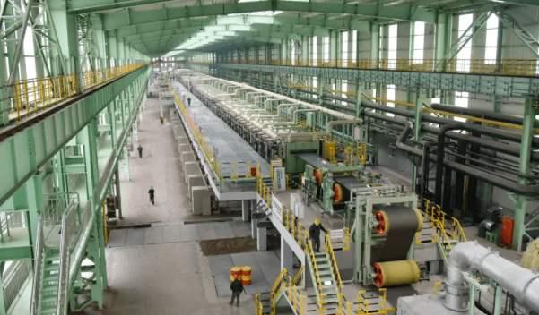 泰山钢铁集团泰嘉不锈钢冷轧板材深加工项目竣工投产!